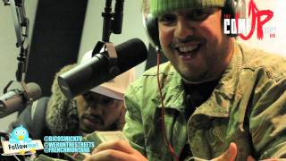 FRENCH MONTANA & COKE BOYS ON COSMIC KEV COME UP SHOW