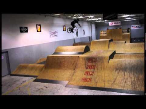 Vert Village BMX Park 2012 March Contest Pros and Ams
