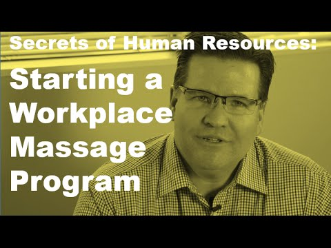 5 Things to Consider Before Starting a Corporate Massage Program