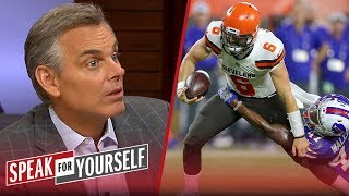 Colin doesn't think it's fair to ask Baker to change the Browns culture | NFL | SPEAK FOR YOURSELF