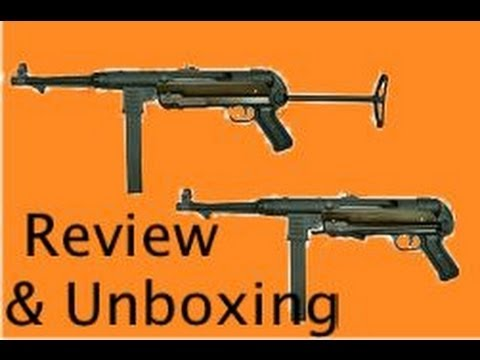 sfa src sr40 mp40 ww2 airsoft gun smg review and unboxing. Black Bedroom Furniture Sets. Home Design Ideas