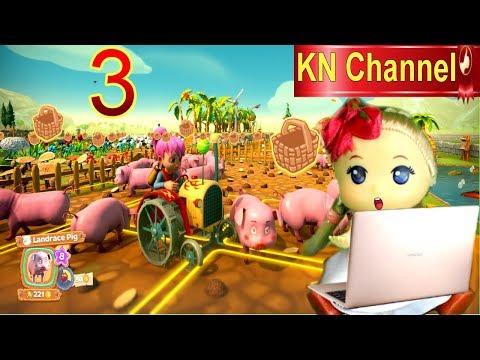 Trò chơi KN Channel FARM TOGETHER  tập 3 | HƯỚNG DẪN CÀI ĐẶT VÀ CHƠI GAME NÔNG TRẠI BÉ NA
