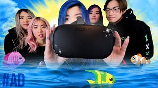 /krew plays vr for the first time