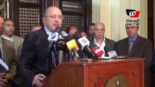 مؤتمر وزير الصحة لإعلان تفاصيل علاج مرضى فيروس سي