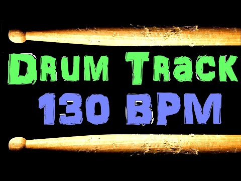 Baixar Funk Rock Drum Beat 130 BPM Bass Guitar Backing Track Free MP3 Download Loop #50