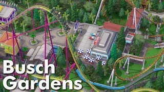 Parkitect Park Showcase - Busch Gardens (by coasterB)