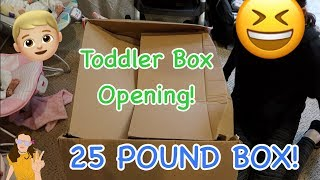 Ultra Realistic Reborn Toddler Prototype Box Opening! 25 POUND BOX! | Kelli Maple