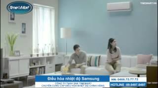 Điều hòa nhiệt độ gia đình Samsung thế hệ mới.