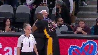Los Angeles Lakers vs San Antonio Spurs - December 11, 2015