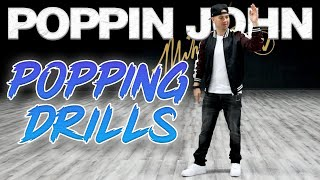Popping Drills (Dance Moves Tutorials) Poppin John | MihranTV (@MIHRANKSTUDIOS)