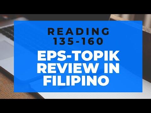EPS-TOPIK READING 135-160