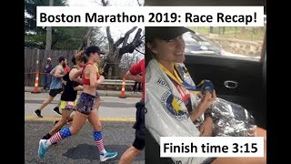 Boston Marathon 2019: Race Recap (missing my time goal & what I would do differently)