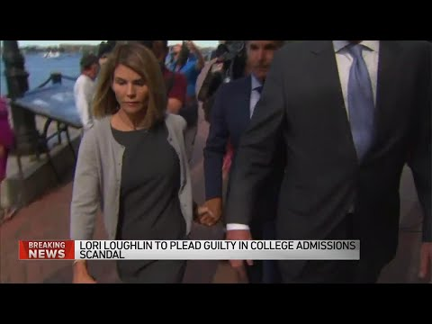 Lori Loughlin, husband to plead guilty in college admissions scandal