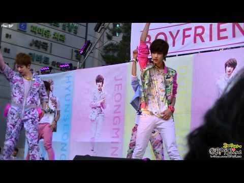 [FanCam] 120617 BOYFRIEND at Guerilla Concert - Don't Touch My Girl