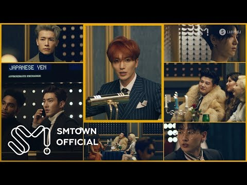 SUPER JUNIOR 슈퍼주니어 'Black Suit' MV