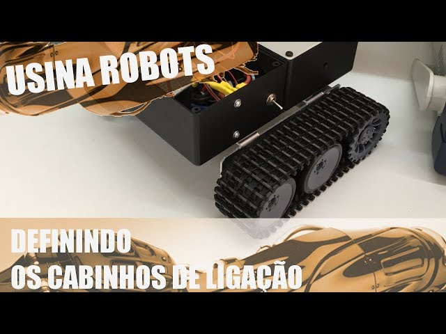 DEFININDO OS CABINHOS DE LIGAÇÃO | Usina Robots US-2 #088