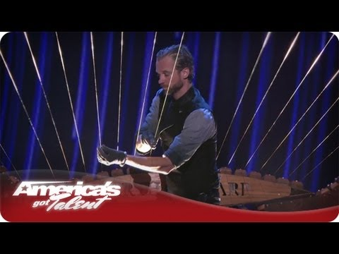 Earth Harp Performance - America's Got Talent William Close Quarterfinals