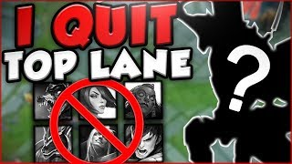 I'M QUITTING TOP LANE?? CAN THIS NEW ROLE BECOME MY NEW MAIN ROLE?! - League of Legends Gameplay