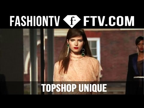 TOPSHOP Unique Spring/Summer 2016 at London Fashion Week