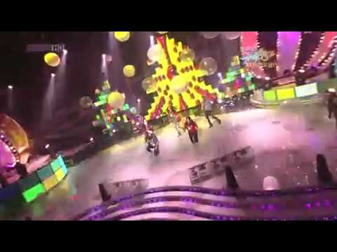 091225 SNSD SHINee f(x) - Chu - Ring Ding Dong - GEE - Jingle Bell Rock
