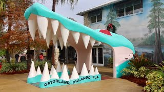 What's New At Gatorland ? Swamp Buggy Monster Truck Ride / Adventure Hour Gator Feeding & MORE