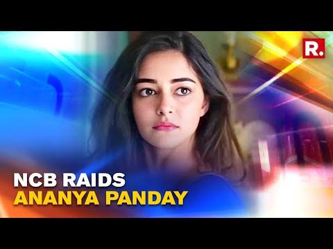 Video of NCB raid at actress Ananya Panday's Mumbai residence