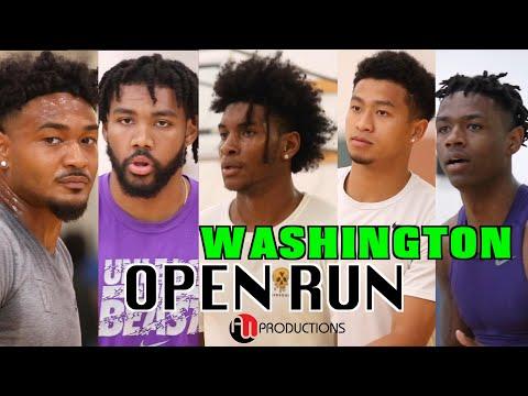 NBA Kevin Porter Jr. w/ Overseas Pro's & D1 Players | Washington OPEN RUN