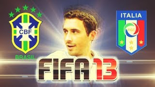 FIFA 13 - Brazil vs. Italy - Exclusive Gameplay