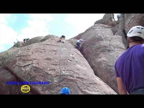 Kayak Climb Colorado - Bold Earth Teen Adventures