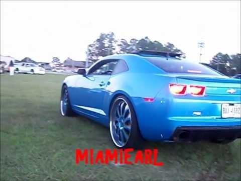 """DUB and camaro on 24"""" Forgiato Inferno Florida Classic's Car Show 2011"""