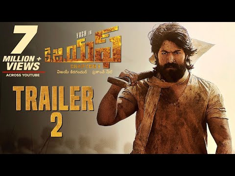 KGF Official Telugu Trailer 2