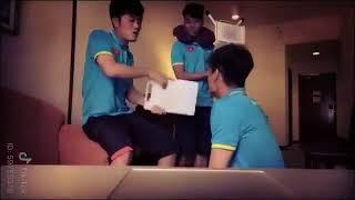 Chết cười với độ lầy của Xuân Trường và đồng đội U23 Việt Nam