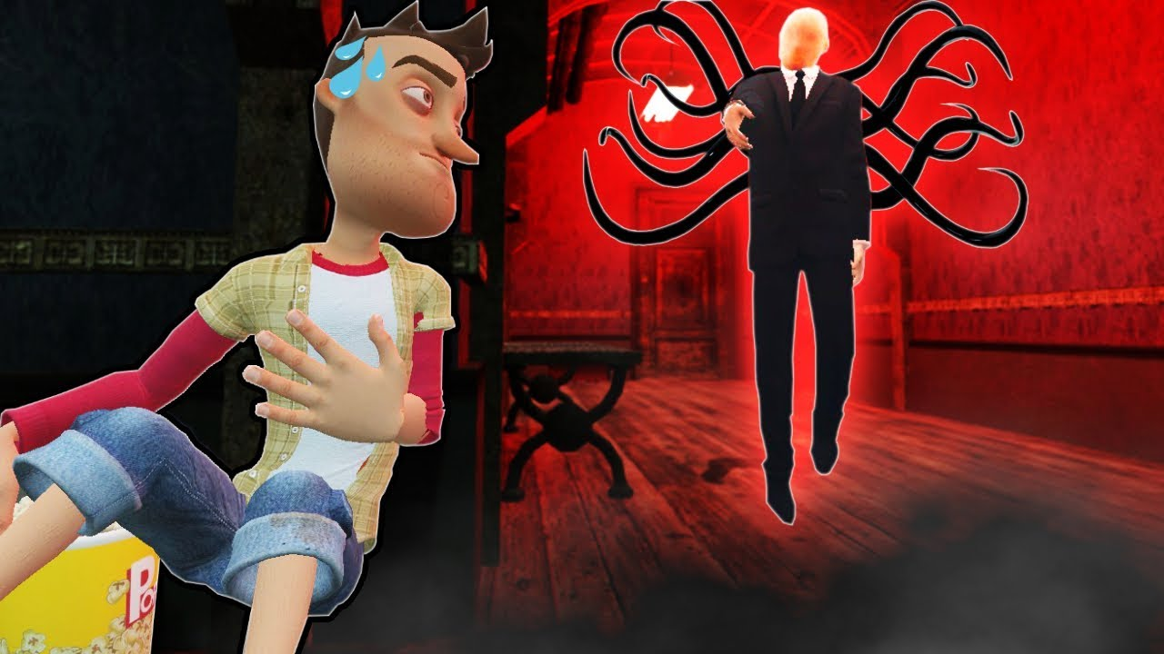 SLENDER MAN FOUND IN HAUNTED HOUSE? (Garry's Mod Gameplay Gmod Roleplay)  HAUNTED HOUSE HIDE AND SEEK