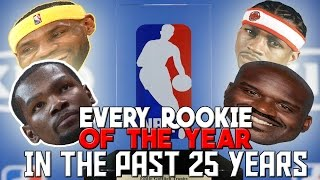 Can You Name EVERY Rookie of the Year in the Past 25 YEARS? | KOT4Q