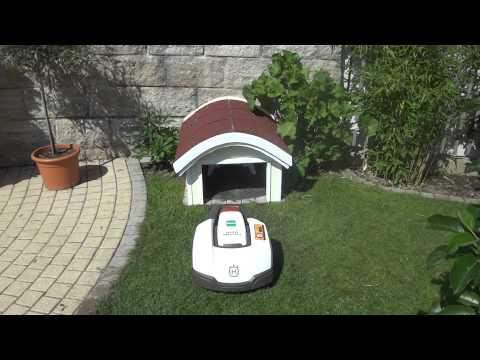 husqvarna rasenroboter garage. Black Bedroom Furniture Sets. Home Design Ideas