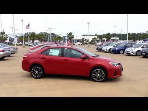 2016 Toyota Corolla S Plus at Loving Toyota