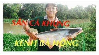 Săn Cá Khủng Add Vồ Con Ếch Bự Chà Bá - Câu Giao Lưu Với Cần Thủ ÔM Được Cá Khủng Sông Bà Hồng