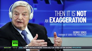 WW3 may start soon, Soros warns, unless US loosens up on China