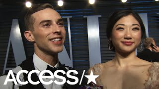 Adam Rippon & Mirai Nagasu On Their Big Oscars Night & Adam's Iconic Suit! | Access