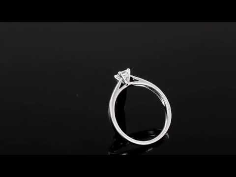 Browns Family Jewellers Princess Cut Diamond Solitaire Ring