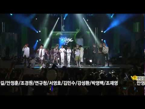 【1080P】All Artist (BoA,Super Junior,EXO-K,BEAST..) - Run To You (31 Aug,2012)