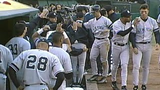 2000 ALDS Gm5: Yanks score six in top of the 1st