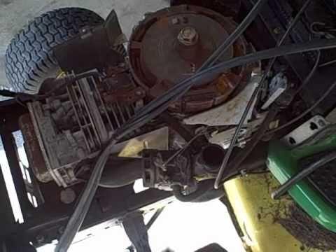 john deere 310se engine diagram part 2 - how to repair briggs/john deere la115 19.5 hp ...