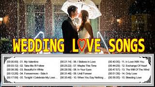 1 Hour Romantic Love Songs For Wedding Collection - Greatest Hits Beautiful Wedding Love Songs Ever