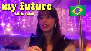 my future da billie mas com estrelinhas no fundo :))