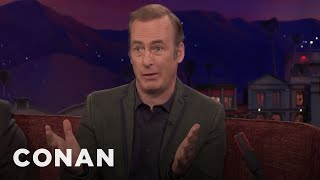 """Bob Odenkirk Thought Saul Was Going To Die On """"Breaking Bad""""  - CONAN on TBS"""