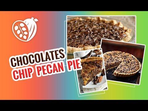 Chocolate Chip Pecan Pie Recipe - Chocolak.com