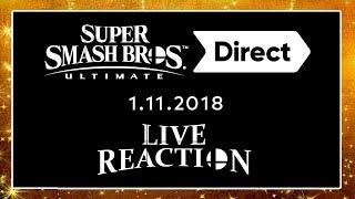 🔴 Finale SUPER SMASH BROS. ULTIMATE Direct 01.11.2018 + Treehouse Live 🎇 Domtendos Live Reaktion