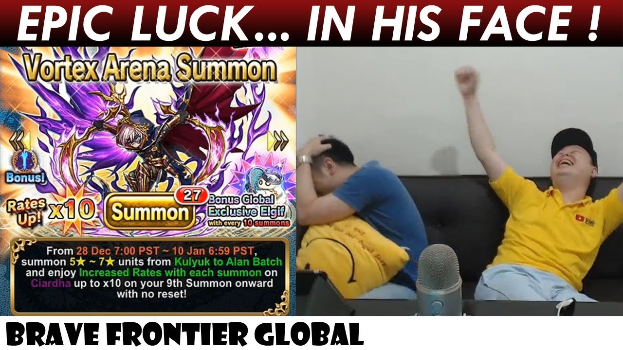 Epic Luck In His Face!? Rare Summon For Ciardha (Brave Frontier Global)