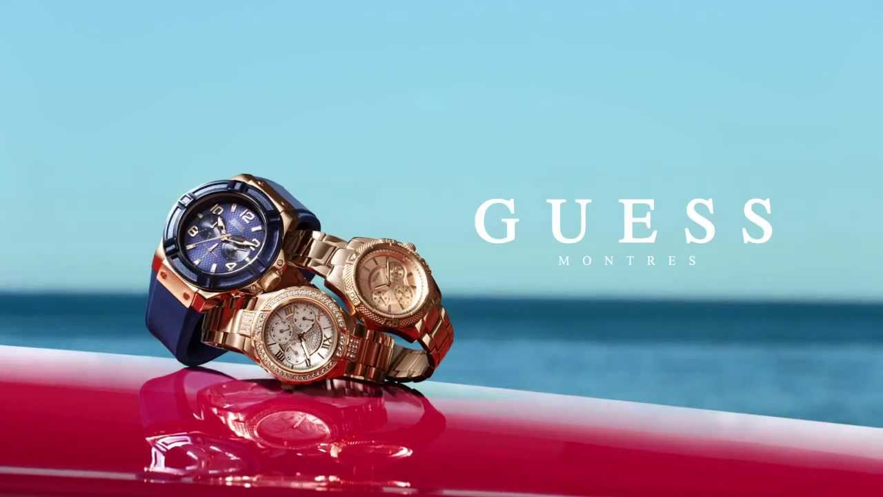 montre guess pub tf1